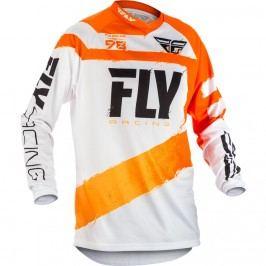 Fly Racing F-16 2018 oranžovo-bílá - L