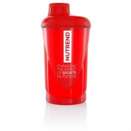 Nutrend Shaker 2019 600 ml červená