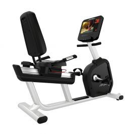 Life Fitness Integrity D Base Discover SE3HD recumbent