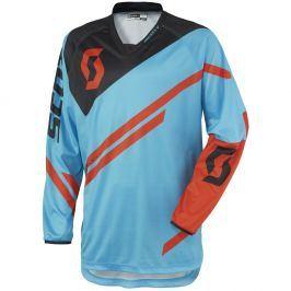 Scott MOTO 350 Track modro-oranžová - M (46-48)
