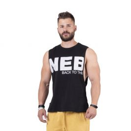 Nebbia Back to the Hardcore tank top 144 Black - XL
