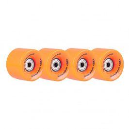 WORKER 60*45mm vč. ložisek ABEC 5 - 4ks oranžová