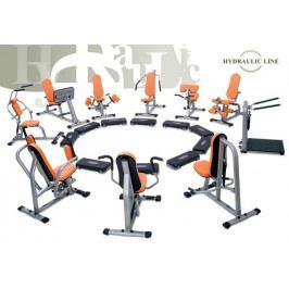 inSPORTline Sestava strojů pro kruhový trénink - černá