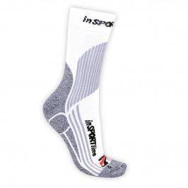 inSPORTline inSPORTline ponožky bílé bílá - XS (26-29)