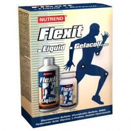 Nutrend Flexit Liquid 500 ml + Flexit Gelacoll 180ks