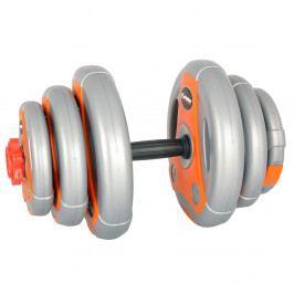 inSPORTline 3-18 kg šedo-oranžový