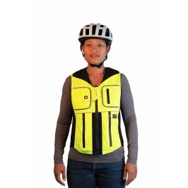 Helite B'Safe zeleno-žlutá - S