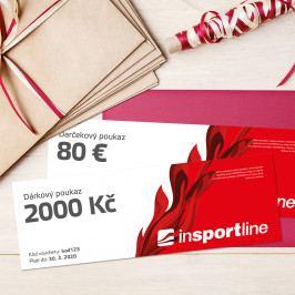 inSPORTlineNotEX Dárkový poukaz - 2.000 Kč pro nákup na eshopu