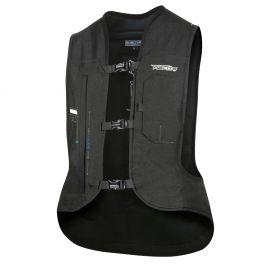 Helite Airbagová vesta Helite e-Turtle černá rozšířená černá - L