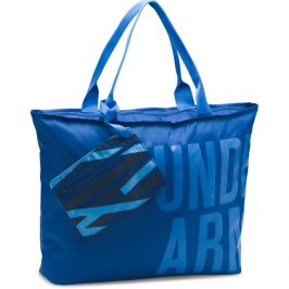 Under Armour Big Word Mark Tote Blue - OSFA