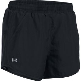 Under Armour Fly By Short Black/Black/Reflective - XS