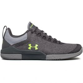 Under Armour W Charged Legend TR Hypersplice Rhino Gray/Steel/Quirky Lime - 5,5