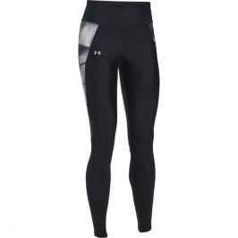 Under Armour Fly By Printed Legging Black/Ghost/Reflective - XS