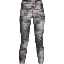 Under Armour HG Armour Ankle Crop Print Jet Gray - XS