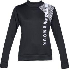 Under Armour Synthetic Fleece Crew WM Black/Black/White - XS