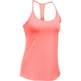 Under Armour Fly By Racerback Tank Orange/Pink - XS