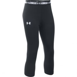 Under Armour Armour Capri Black/Black/White - YS