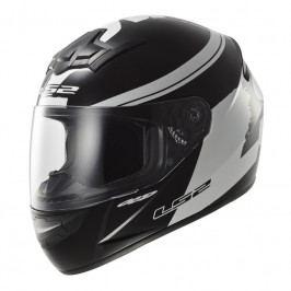 LS2 FF352 Rookie Fluo Black-White černo-bílá - XS (53-54)
