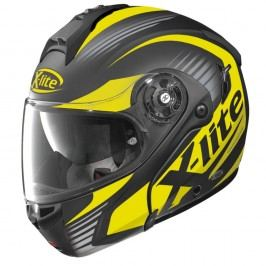 X-lite X-1004 Nordhelle N-Com Flat Black-Yellow černo-žlutá - L (59-60)