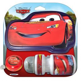 Cars Sada Cars - láhev, zvonek, štítek na řídítka