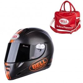 Bell M5X Daytona Carbon Matte Orange S (55-56)