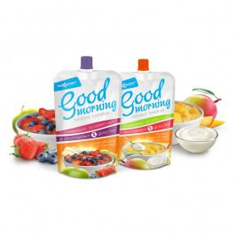 Max Sport Good Morning mango + řecký jogurt + cereálie + chia semínka