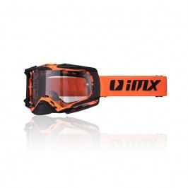 iMX Dust Graphic Orange-Black Matt