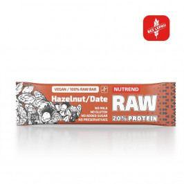 Nutrend Raw Protein Bar 50g lískový ořech + datle