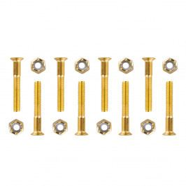 WORKER Podvozkové šrouby 5x35 mm zlatá