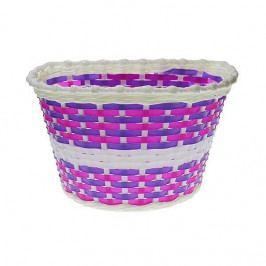 Nexelo Dětský přední košík bílo-fialový
