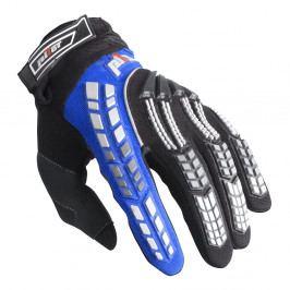 Pilot Dětské motokrosové rukavice černo-modrá - 6