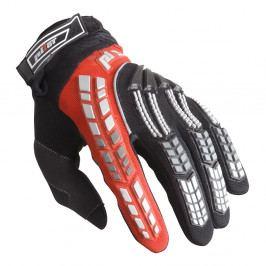 Pilot Dětské motokrosové rukavice černo-červená - 6