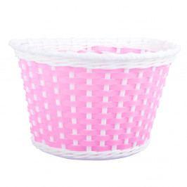 Cyklošvec Dětský plastový košík růžový růžová