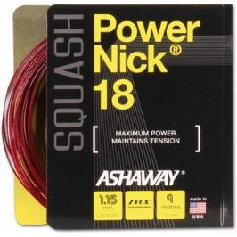 Squashový výplet Ashaway PowerNick 18 Zyex Red 1,15 mm
