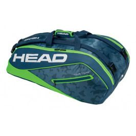 Taška na rakety Head Tour Team Supercombi 9R Navy/Green