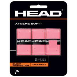 Omotávka na rakety vrchní Head Xtreme Soft Pink (3 ks)