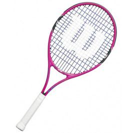 Dětská tenisová raketa Wilson Burn Pink 25
