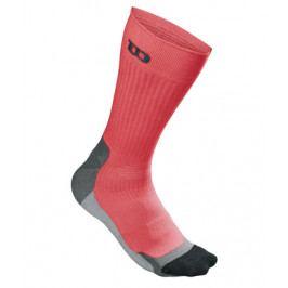 Pánské ponožky Wilson Colr H-E Crew Red (1 pár)