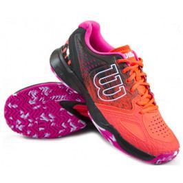 Dámská tenisová obuv Wilson Kaos Comp Fiery Coral