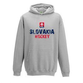 Dětská mikina s kapucí Slovakia Hockey