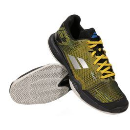 Pánská tenisová obuv Babolat Jet Mach II Clay Yellow/Black