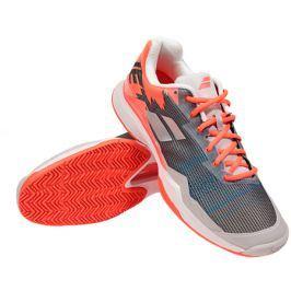 Pánská tenisová obuv Babolat Jet Mach I Clay Silver