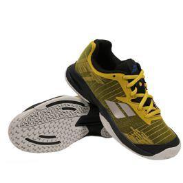 Juniorská tenisová obuv Babolat Jet All Court JR Yellow/Black