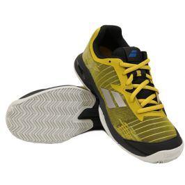 Juniorská tenisová obuv Babolat Jet Clay JR Yellow/Black