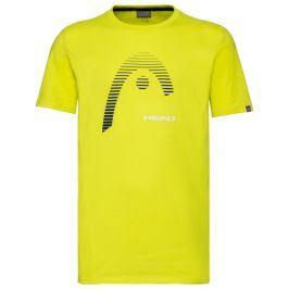 Pánské tričko Head Club Carl Yellow