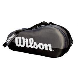 Taška na rakety Wilson Team 1 Compartment Grey