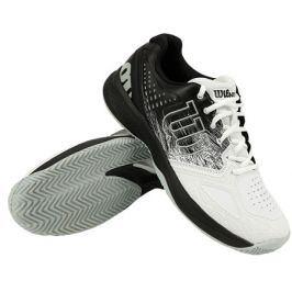 Pánská tenisová obuv Wilson Kaos Comp 2.0 CC White/Black