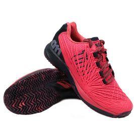 Juniorská tenisová obuv Wilson Kaos 2.0 Para Pink/Blueberry