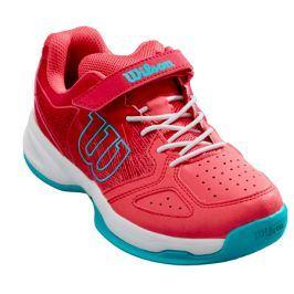 Dětská tenisová obuv Wilson Kaos Kids Para Pink/White