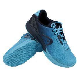 Pánská tenisová obuv Head Revolt Pro 3.0 Clay Aqua/Dark Blue